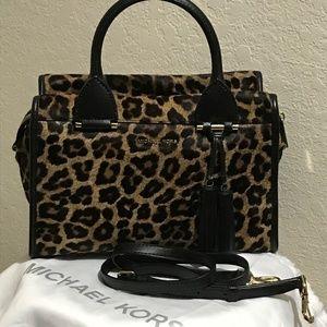 Michael Kors Bags - MICHAEL KORS Geneva Satchel Hair Calf Handbag